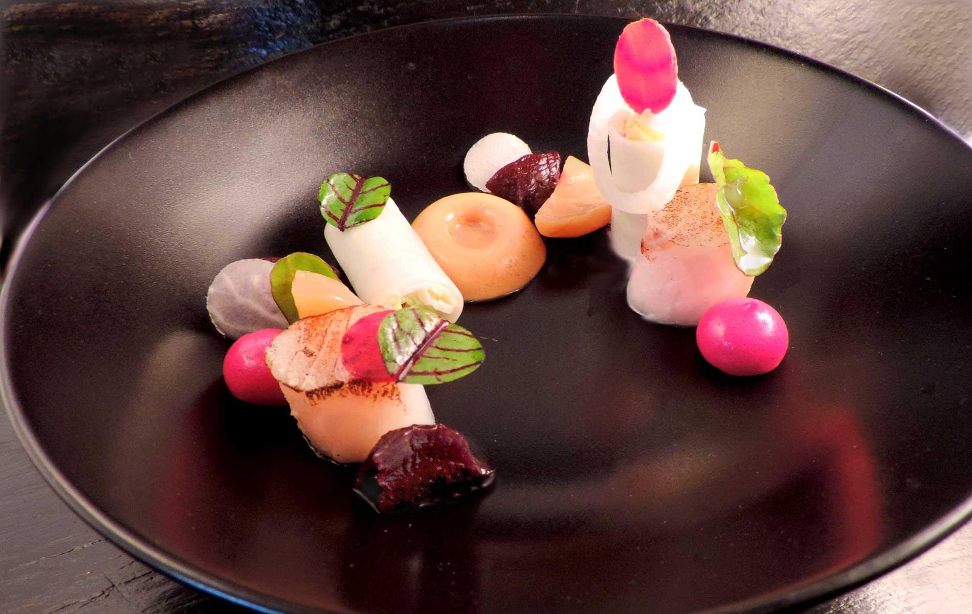 Wijnrestaurant-Merlot-Amersfoort-gerecht-roze